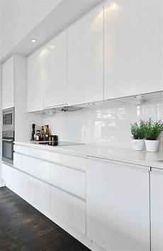 Küche Weiß Modern - ikea k 252 che hochglanz wei 223 valdolla