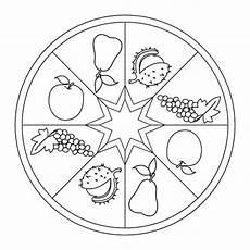 Ausmalbilder Herbst Erntedank Herbst Mandala Mit Fr 252 Chten Bastel Herbst Herbst Im
