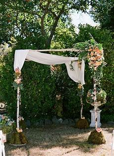 bold outdoor wedding once wed