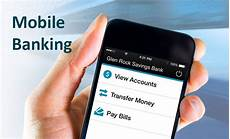 mobile bankinh glen rock savings bank mobile banking