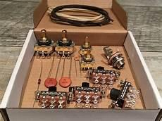 fender jaguar usa premium upgrade wiring kit reverb