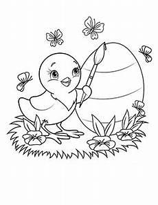 Ausmalbilder Ostern Ei Kostenlose Ausmalbilder Ostern Osterkueken Bemalt Ein Ei
