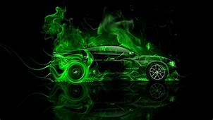 Dodge Charger RT Muscle Side Fire Car 2014  El Tony