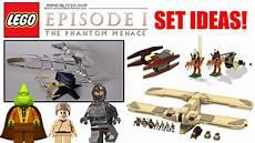 lego wars episode 1 the phantom menace set ideas