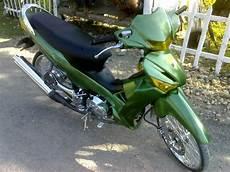 Modif Supra 125 Sederhana by Modifikasi Honda Supra X 125 2012 Sarboah
