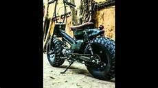 Modifikasi Motor Bebek Jadi Sepeda by Modifikasi Motor Bebek Jadi Aliran Scrambler