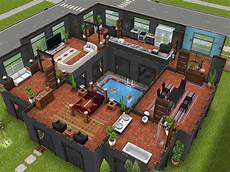 sims freeplay house plans variation on stilts house design i saw on pinterest