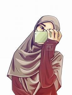Gambar Kartun Muslimah Modern Cari Gambar Keren Hd