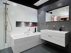 salle de bains grise moderne photo stock image du