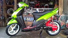 Mio Keren by 83 Modifikasi Motor Mio Sporty 2012 Warna Merah Sobat