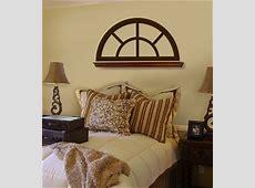 Half Moon Window Frame decorative wall decals stickers