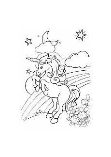 Ausmalbilder Einhorn Und Elfen Ausmalbild Einhorn Fabelwesen Einh 246 Rner Unicorn