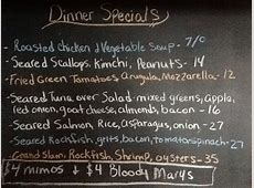 Sunday Night Dinner Specials   Blue Water Grill