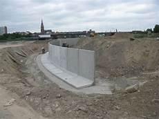 vb beton mur de soutenement en l lx100 100x60 longueur