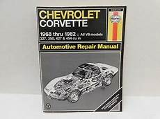 car repair manuals download 2010 chevrolet corvette on board diagnostic system haynes 24040 274 chevrolet corvette 1968 1982 all v8 models auto repair manual ebay