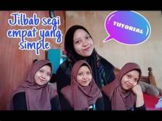 Tutorial Jilbab Segi Empat Yang Simple Part 2