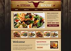 recipe card template for wix steakhouse website template wix