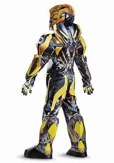 Boys Transformers 5 Bumblebee Prestige Costume