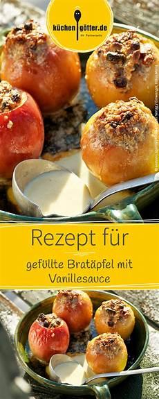 Bratapfel Rezept Klassisch - gef 252 llte brat 228 pfel mit vanillesauce rezept