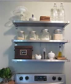 Freckles Ikea Insanity Kitchen Shelves
