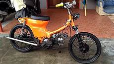 Cub Honda Grand by C70 Basic Mesin Honda Grand Suara Gahar Kayak Moge