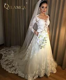 2018 Sleeve A Line Wedding Dresses Vintage Robe De