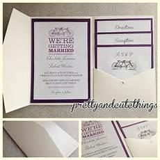 ivory vintage wedding invitations diy pocket fold envelopes card sleeve ebay