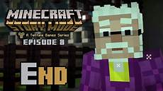 the begin in minecraft story mode episode 8 quot ending quot minecraft story mode episode 8 gameplay