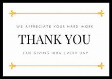 thank you card template for employees employee appreciation thank you note appreciation thank