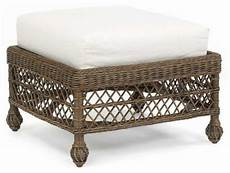 Cushioned Ottoman by Cushioned Foot Stools Indoor Wicker Ottomans