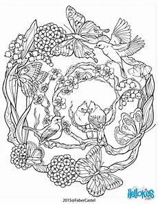 Ausmalbilder Zum Ausdrucken Natur Mandala Mit Nat 252 Rlichen Muster Vogel Malvorlagen