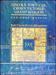 auto repair manual online 1991 mercury grand marquis free book repair manuals 1991 lincoln town car ford crown victoria mercury grand marquis repair shop manual original