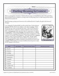 finding meaning in context teacher ideas school