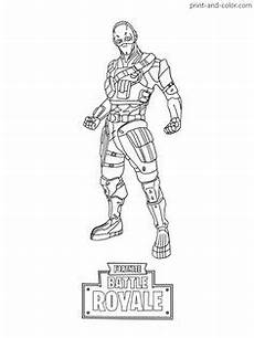 fortnite battle royale coloring page beef skin