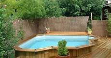 comment installer une piscine semi enterrée le montage d une piscine hors sol quelques 233 simples
