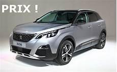 Les Prix Du Nouveau Peugeot 3008 L Automobile Magazine