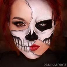 Make Up Halbes Gesicht - 24 best skin wars images on paint