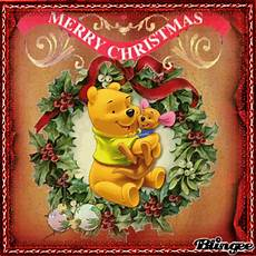 winnie the pooh merry christmas photo merry christmas with winnie the pooh picture 127335508 blingee com