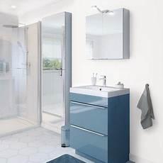 Meuble Sous Vasque 224 Poser Bleu Quot Imandra Quot L 60 X H 82