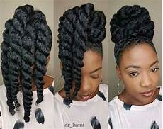 these chunky twists make protective styling easy peasy natural hair styles natural hair updo
