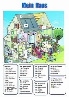 isl german worksheets 19665 das haus lernen und unterricht
