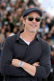 Brad Pitt Brad Pitt Straps Into A Breitling Premier Norton Edition