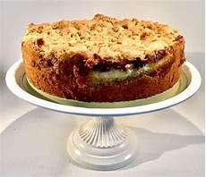 Rhabarberkuchen Mit Pudding Und Streusel - rhabarberkuchen mit streusel und pudding bakeaholic