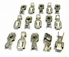 gm wire harness connectors 15 gm 14 16 awg wire wiring harness terminal crimp connectors nos ebay