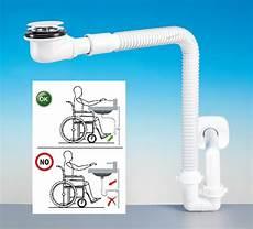sifone bagno kit sifone spazio bagno disabili con piletta bagno bassa