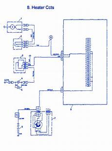 fiat x1 9 1986 heater electrical circuit wiring diagram carfusebox