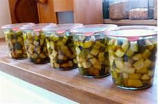 zucchini einmachen zucchinischwemme haltbar machen