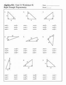 geometry triangle worksheets pdf 912 right triangles trigonometry