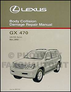 online car repair manuals free 2005 lexus gx user handbook lexus gx470 body repair manual 2003 2004 2005 2006 2007 2008 2009 gx 470 shop ebay