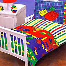 amazon com legos kids bed in a bag toddler crib bedding